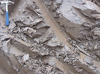 Clay - Quaternary clay in Estonia