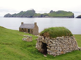 Cleit - Cleit on Hirta