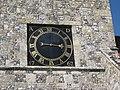 Clock face, St Lawrence Chuch.jpg