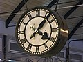 Clock in Newcastle Central station - geograph.org.uk - 1062914.jpg