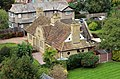 Clover Almshouses, Bidston, from the tower of St Oswald's 1.jpg