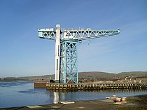 Clydebank Titan Crane - geograph.org.uk - 1069892.jpg