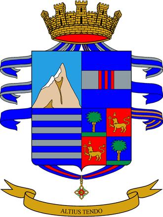 3rd Alpini Regiment - Coat of Arms of the 3rd Alpini Regiment