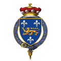 Coat of arms of Frederick North, Lord North, KG, PC.png