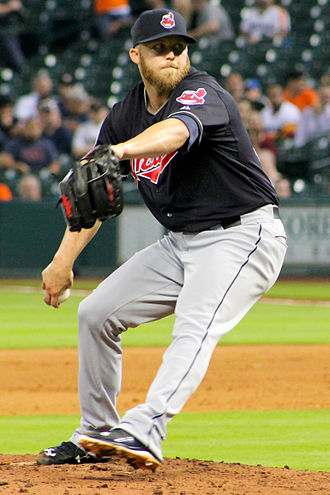 Cody Allen - Allen with the Cleveland Indians