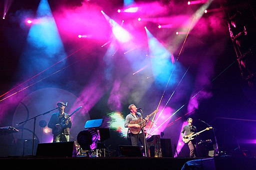 Coldplay at the Fuji Rock Festival 2011