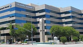 Coldwell Banker - Image: Coldwell Banker Bldg, Encino, Los Angeles