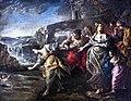 Collection Motais de Narbonne - Moïse sauvé des eaux - Huile sur cuivre 41.7x52.7 - Alessandro Gherardini.jpg
