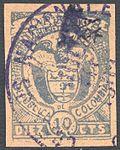 Colombia Cartagena 1899 Sc168.jpg