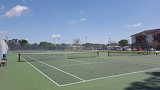 Colonel Tennis Complex - Image: Colonels Tennis Complex (Thibodaux, Louisiana)