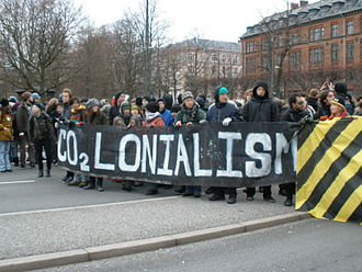 2009 United Nations Climate Change Conference - Demonstrators in Copenhagen