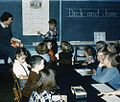 Color film strip depicting various photos of scenes and statistics from c.1949-1950's Duplin County Schools, PhC.188. From Photograph Collections, State Archives of North Carolina, Raleigh, NC. (9016777845).jpg