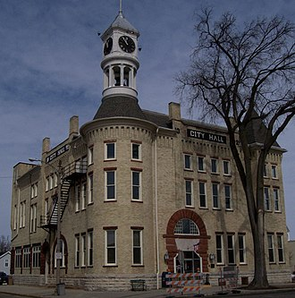 Columbus, Wisconsin - City Hall