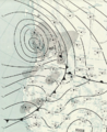 Columbus Day Storm 1962-10-13 weather map.png