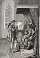 Columbus offers his services to the King of Portugal - Daniel Nicholas Chodowiecki (cropped).png