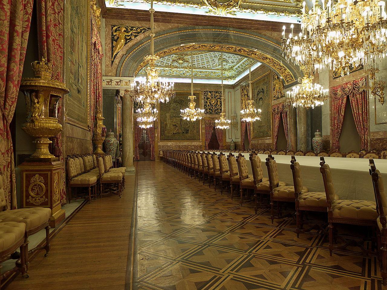 file comedor de gala palacio real de