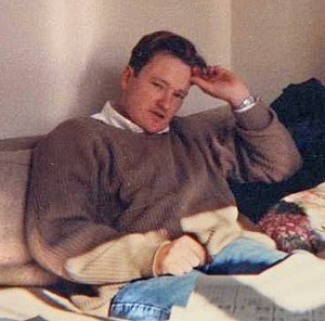 Conan O'Brien in 1992 hanging out in The Simps...