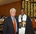 Congressman George Miller and Pastor Dante Quick (5057587311).jpg