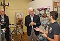 Congressman Miller visits Bay Area Bikes (6266022841).jpg