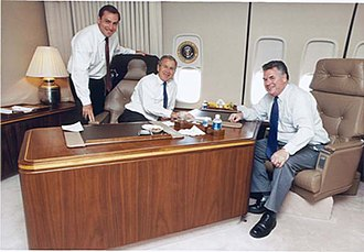 Vito Fossella - Fossella with President George W. Bush and Peter King in 2004.