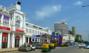 Connaught Place, New Delhi - Robert Tor Russell was the architect of Connaught Place