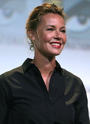 Connie Nielsen - Nielsen at the 2016 San Diego Comic-Con International promoting Wonder Woman
