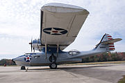 Consolidated PBY-5A Catalina BuNo 48375 N96UC BelowLWing FOF 19Feb2010 (14403822648).jpg