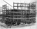 Construction of floors six through eight at the Smith Tower construction site, Seattle, Washington, November 2, 1912 (SEATTLE 4897).jpg