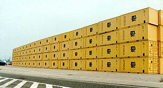 Mediterranean Shipping Company - New MSC containers.