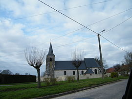 The church in Conteville