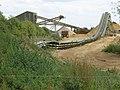 Conveyor system, Baston Pits - geograph.org.uk - 1373371.jpg