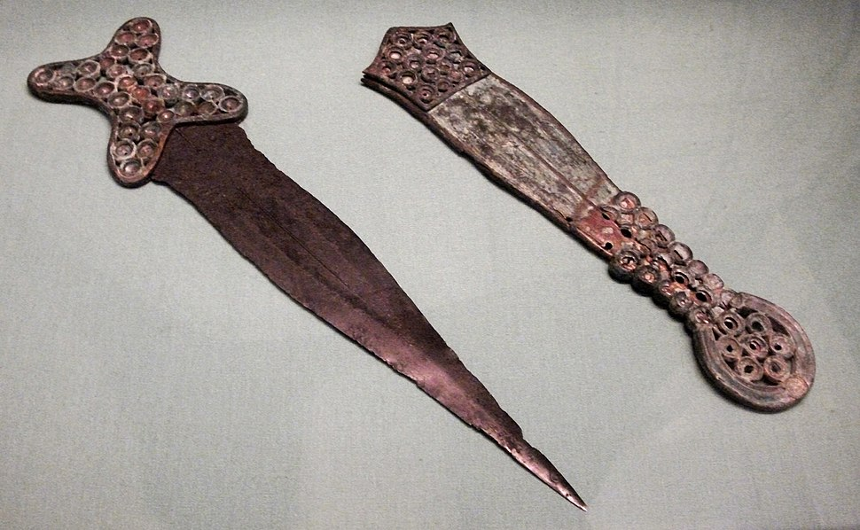 Cookham dagger and scabbardDSCF6636