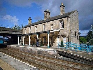 Corbridge railway station