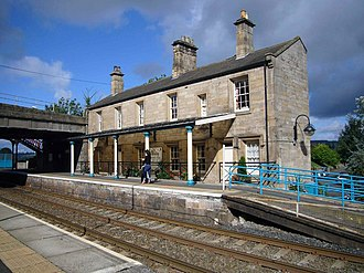 Corbridge - Corbridge railway station