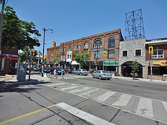 The Junction - The Junction from High Park Avenue and Dundas Street