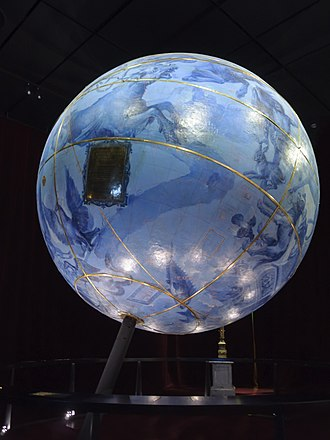 Globe - Celestial globe made by Coronelli for Louis XIV c.1683