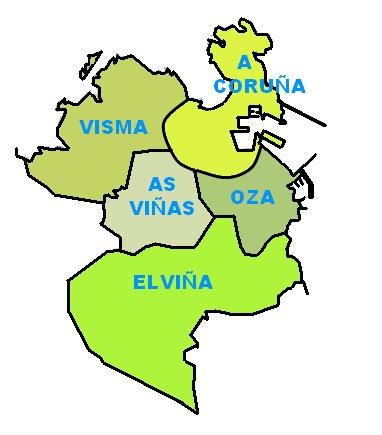 Coruña parroquias 2