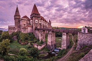 Corvin Castle - Hunedoara, Romania - Travel photography (36729360851).jpg