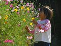 Cosmos and girl 120122.jpg