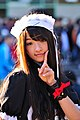 Cosplayer of Misaki Ayuzawa, Maid Sama! at FF19 20120204c.jpg
