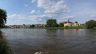 Wittenberg (district) - Image: Coswig(Anhalt),Elbe, Schloss