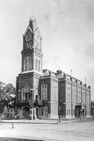 Duval County, Florida - Image: Courthouse 1894JAX