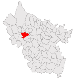 Location of Cozieni