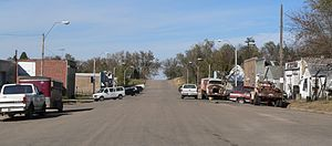 Craig, Nebraska - Main Street in Craig