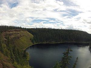 Interlakes - Crater Lake, near Green Lake