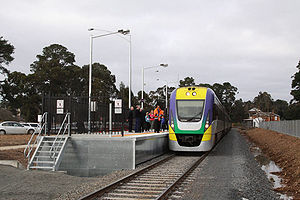 how to travel to bendigo from watergardens by train
