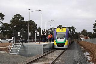 Creswick railway station railway station in Creswick, Victoria, Australia