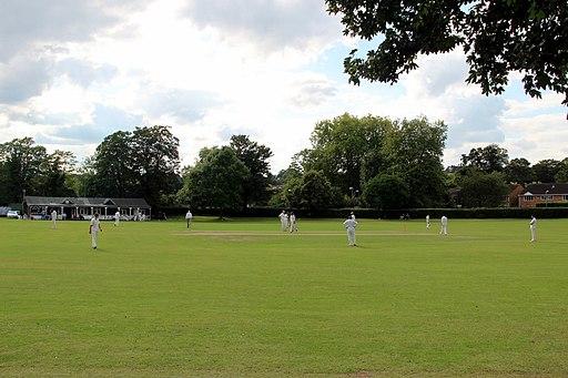 Cricket Match, Marlow, Buckinghamshire - geograph.org.uk - 2556515