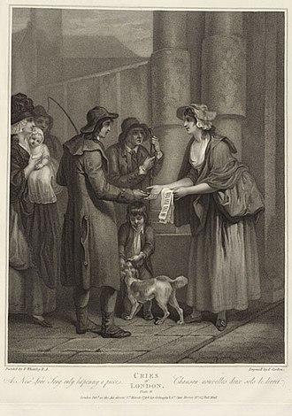 Anthony Cardon - Image: Cries of london plate 11 by CARDON, ANTHONY (ANTOINE) GMII