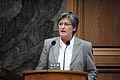Cristina Husmark Pehrsson, socialforsakrings- och samarbetsminister Sverige under sessionen i Kopenhamn 2006.jpg